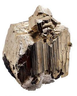 Pyrite avec quartz de Bulgarie