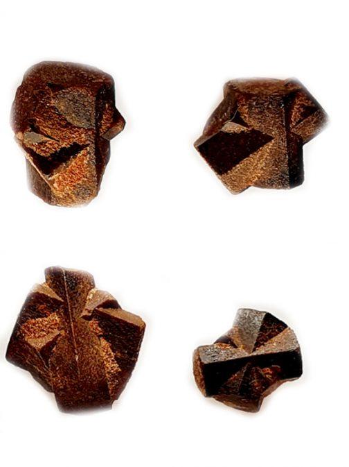 Staurolite: lot de 4 pièces