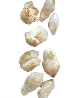 Lot de Quartz de Madagascar: 8 pièces