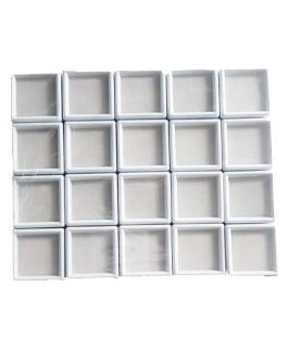 Boites de rangement : 3×3 Blanche