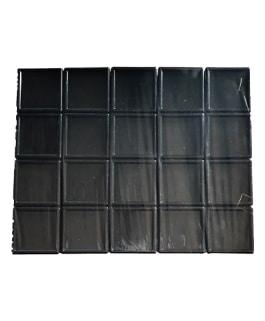Boites de rangement : 6×6 Noir